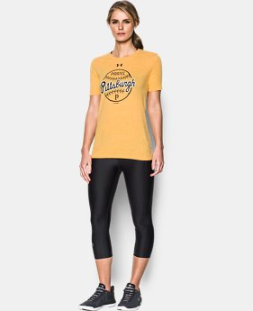 Women's Pittsburgh Pirates UA Charged Cotton® Tri-Blend T-Shirt  1 Color $34.99