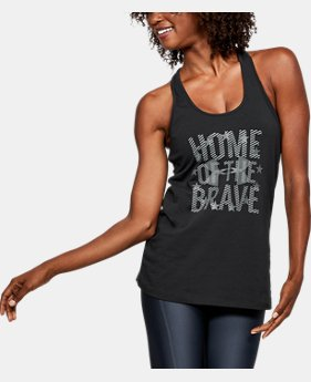 Women's UA Freedom Home Of Tank  2 Colors $16.99