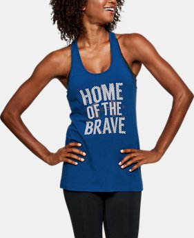 Women's UA Freedom Home Of Tank  1 Color $16.99