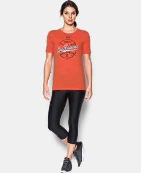 Women's San Francisco Giants UA Charged Cotton® Tri-Blend T-Shirt  1 Color $26.99
