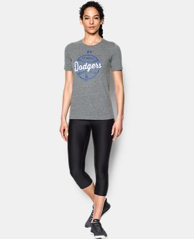 Women's Atlanta Braves UA Charged Cotton® Tri-Blend T-Shirt  1 Color $34.99