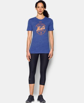 Women's New York Mets UA Charged Cotton® Tri-Blend T-Shirt  1 Color $19.99