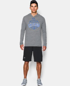 New Arrival Men's Chicago Cubs Tri-Blend Hoodie  1 Color $49.99