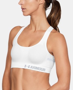 Women's UA Threadborne™ Crossback Solid Sports Bra  1 Color $64.99