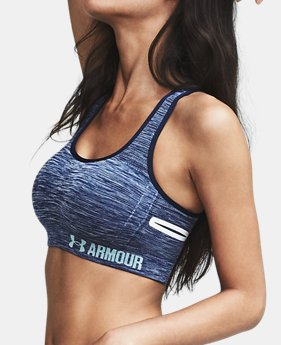 Women's UA Threadborne™ Crossback Heathered Sports Bra  1 Color $0