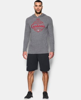 Men's St. Louis Cardinals Tri-Blend Hoodie  1  Color $49.99
