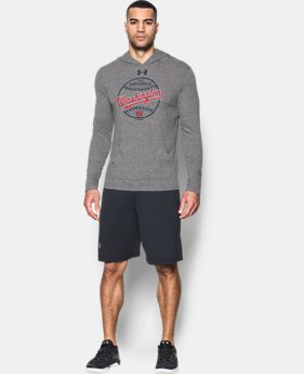 Men's Washington Nationals Tri-Blend Hoodie  1  Color $49.99