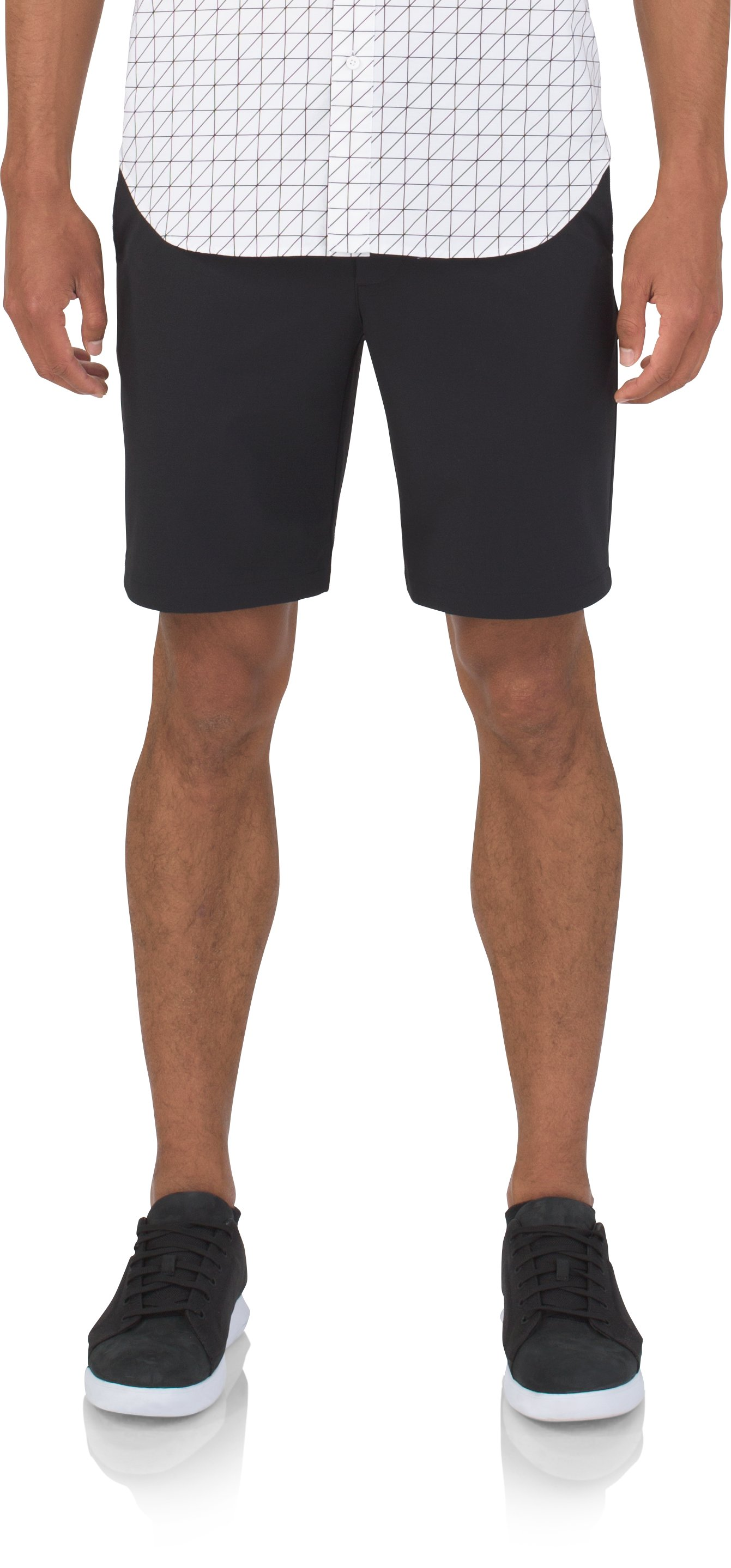 Men's UAS Fieldhouse Crepe Shorts, Black
