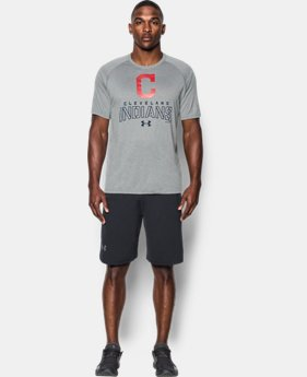 Best Seller Men's Cleveland Indians UA Tech™ T-Shirt  1 Color $34.99
