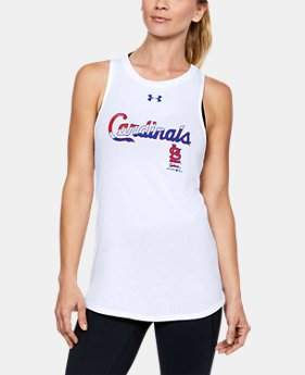 Women's St. Louis Cardinals Cutout Tank LIMITED TIME: FREE U.S. SHIPPING 1  Color Available $29.99