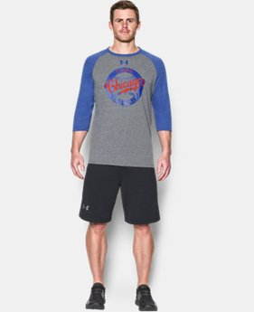 Men's Chicago Cubs ¾ Sleeve T-Shirt  1  Color Available $39.99