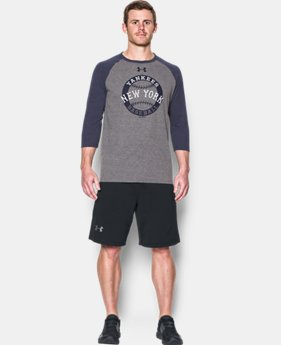 Men's New York Yankees ¾ Sleeve T-Shirt  1 Color $33.99