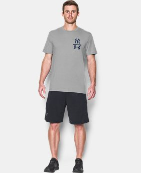 New to Outlet Men's New York Yankees Logo T-Shirt   $24.99