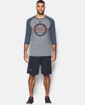 Men's Nationals ¾ Sleeve T-Shirt  1  Color Available $39.99