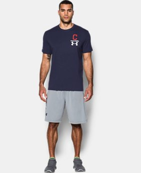 Men's Cleveland Indians Logo T-Shirt  1 Color $34.99