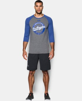 Men's Los Angeles Dodgers ¾ Sleeve T-Shirt  1  Color Available $39.99