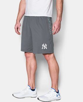 Men's New York Yankees UA Raid Shorts  1 Color $29.99