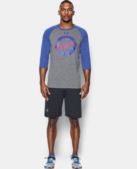 Men's Texas Rangers ¾ Sleeve T-Shirt  1 Color $29.99