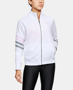 Women's UA French Terry Warm-Up Jacket  3 Colors $59.99