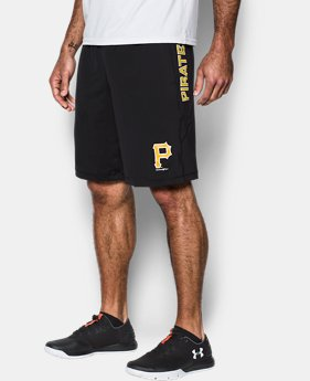 Men's Pittsburgh Pirates UA Raid Shorts  1 Color $27.99