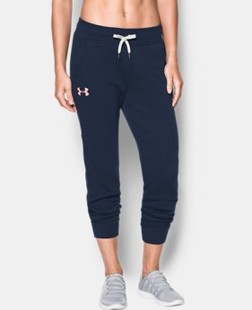 Women's UA Favorite Fleece Wordmark Graphic Pants  1 Color $37.49