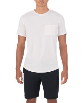 Men's UAS Highline Cashmere-Cotton Pocket Crew  2 Colors $89