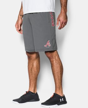 Men's Braves UA Raid Shorts  1 Color $39.99