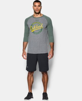 Men's Oakland Athletics ¾ Sleeve T-Shirt  1 Color $39.99