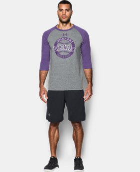 Men's Colorado Rockies ¾ Sleeve T-Shirt  1 Color $39.99