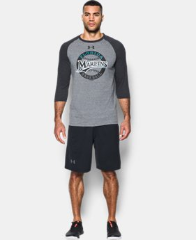 Men's Miami Marlins ¾ Sleeve T-Shirt  1 Color $22.49