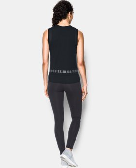 New Arrival  Women's UA Favorite Mesh Graphic Tank  1 Color $44.99