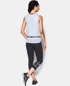 Women's UA Favorite Mesh Graphic Tank  1 Color $29.99