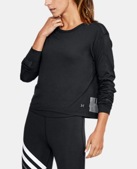 Women's UA Favorite Mesh Graphic Long Sleeve  4 Colors $26.99 to $33.74
