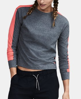 Women's UA Favorite Mesh Graphic Long Sleeve  4 Colors $44.99