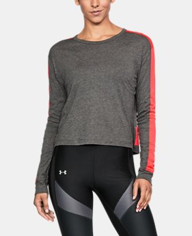 Women's UA Favorite Mesh Graphic Long Sleeve  2 Colors $33.74