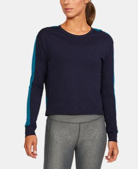 Women's UA Favorite Mesh Graphic Long Sleeve  1 Color $26.99 to $33.74