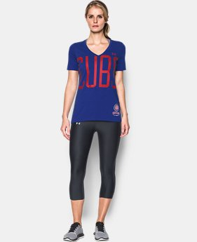 Women's Chicago Cubs Offshore V-Neck  1  Color Available $34.99