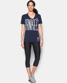 New Arrival Women's New York Yankees Offshore V-Neck  1 Color $34.99