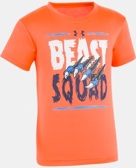 Boys' Pre-School UA Beast Squad Short Sleeve T-Shirt  1  Color Available $21.99