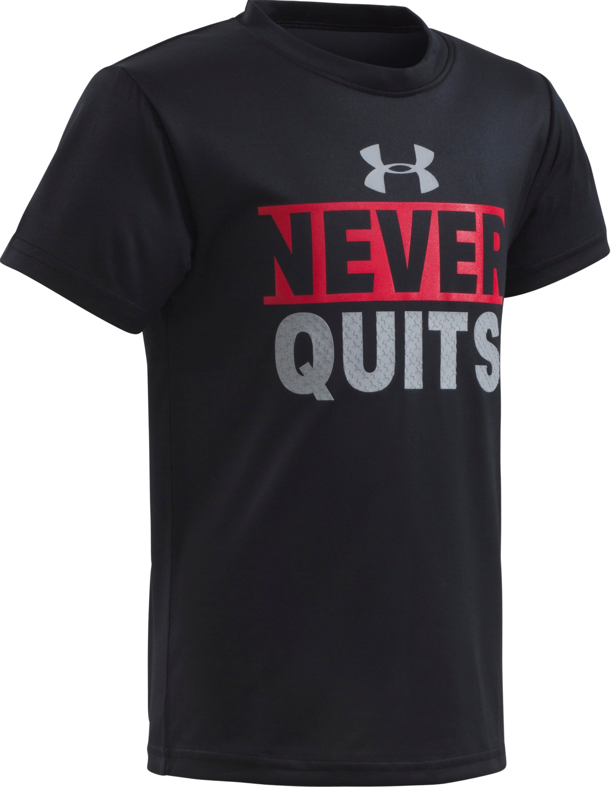 Boys' Toddler UA Never Quit Short Sleeve T-Shirt 1 Color $17.99
