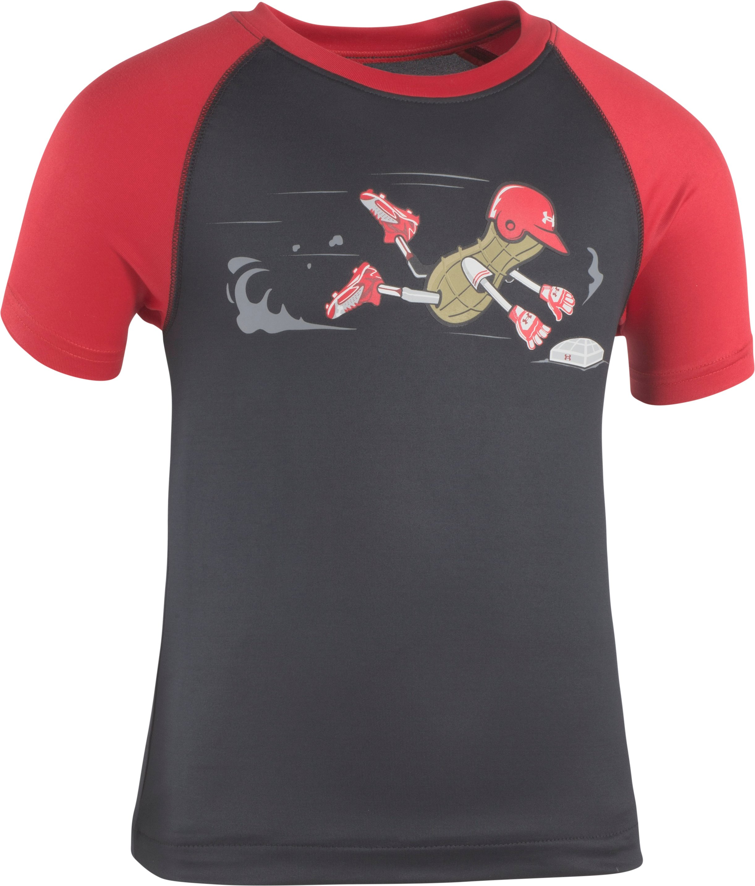 Boys' Toddler UA Peanut Home Run Short Sleeve T-Shirt 1 Color $19.99