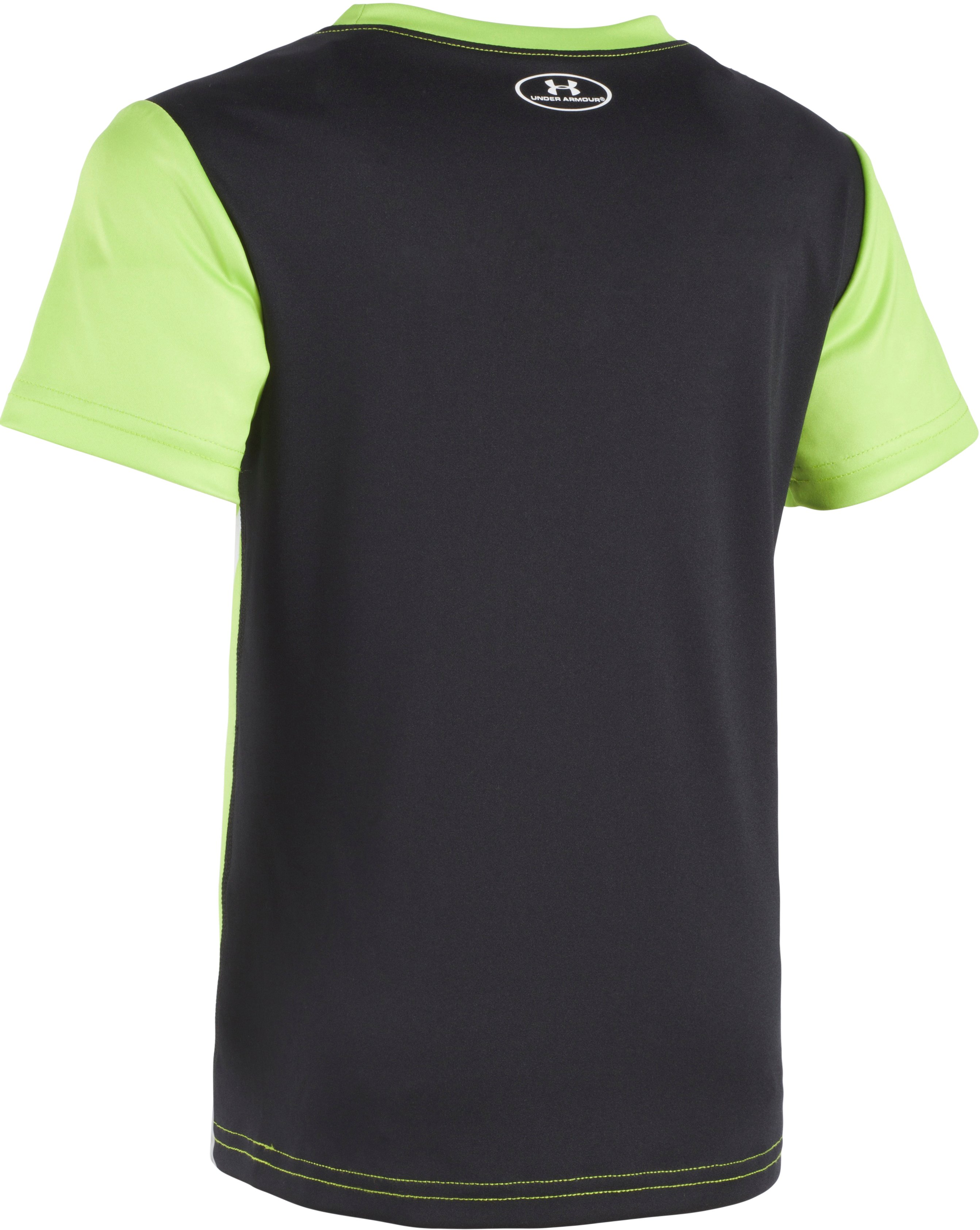 Boys' Toddler UA Select Short Sleeve T-Shirt, FUEL GREEN,