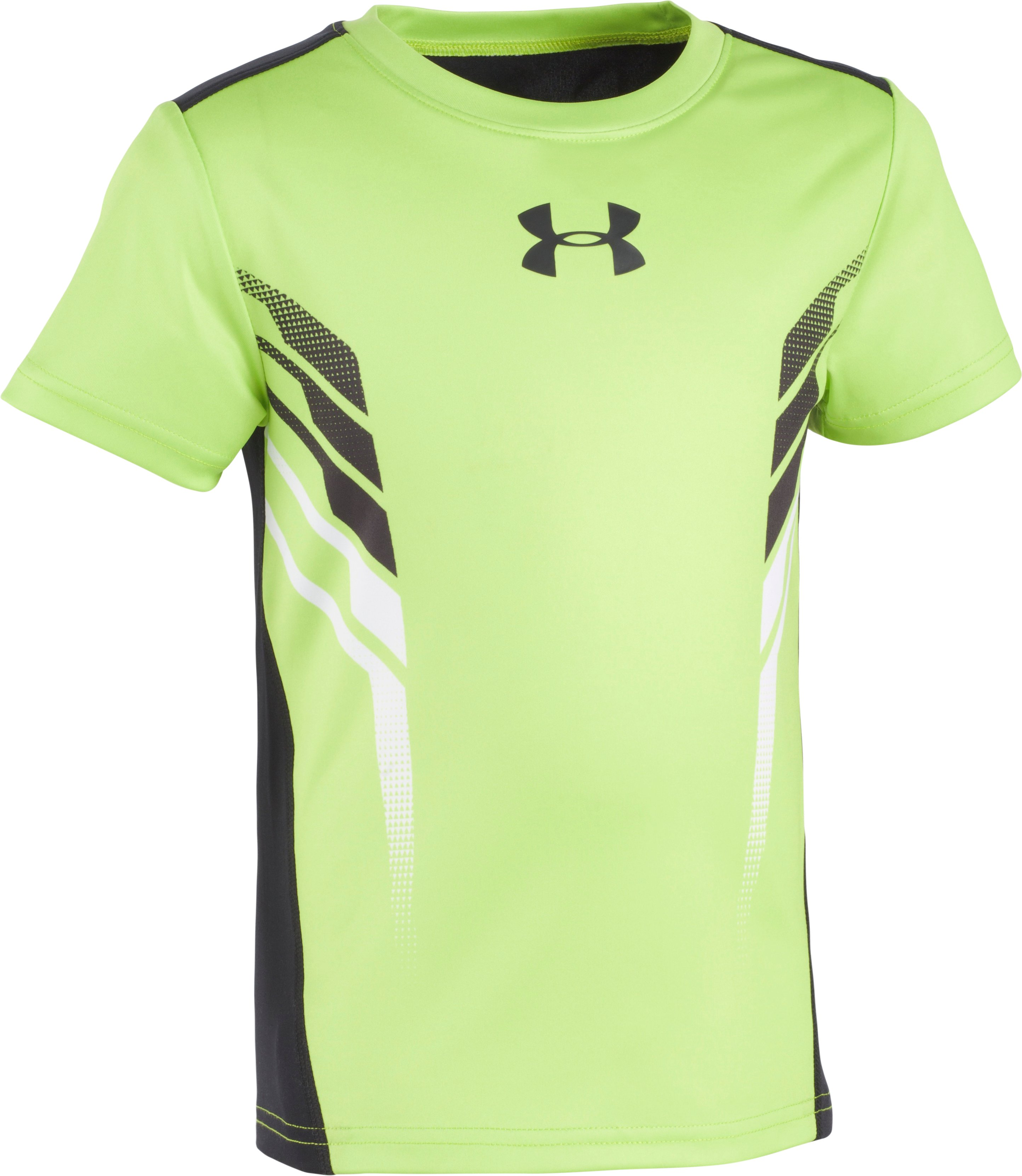 Boys' Toddler UA Select Short Sleeve T-Shirt, FUEL GREEN, Laydown