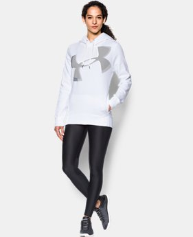 Women's UA Favorite Fleece Exploded Logo Pullover  1 Color $64.99