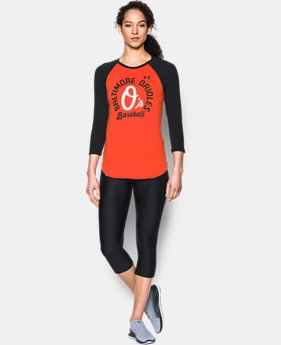 Women's Baltimore Orioles 3/4 Sleeve T-Shirt  1 Color $34.99