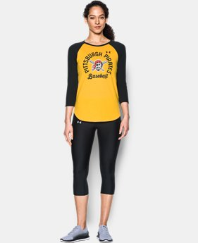 Women's Pittsburgh Pirates ¾ Sleeve T-Shirt  1 Color $34.99