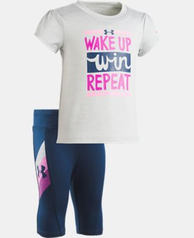 Girls' Infant UA Wake Up Win Repeat Capris  1 Color $20.24