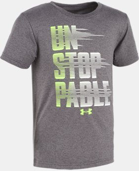 Boys' Pre-School UA Unstoppable Short Sleeve Shirt  1 Color $10.49