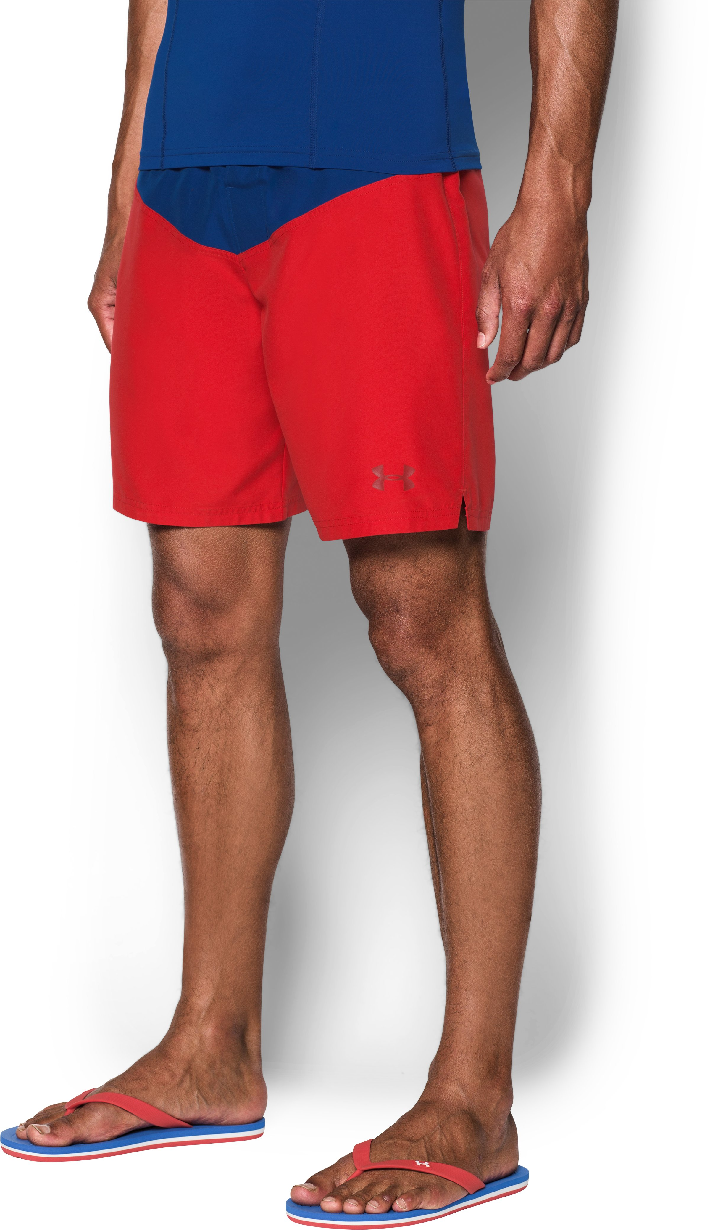 Men's Baywatch UA Boardshorts, Red