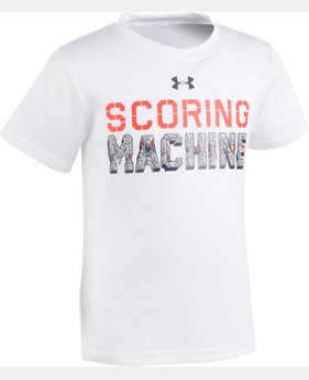 Boys' Pre-School UA Scoring Machine Short Sleeve Shirt  1 Color $10.49